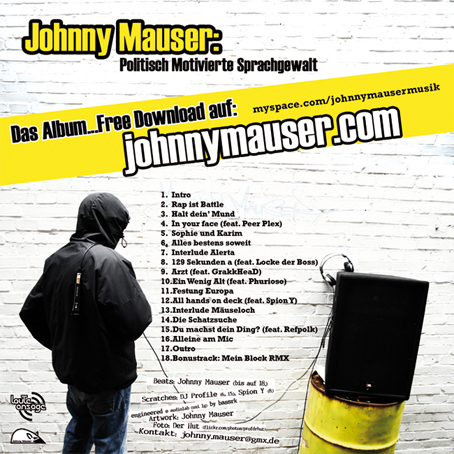 johnny mauser cover